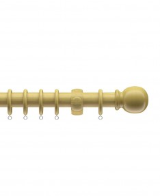 Curtain Pole Victory Wood Light Ash